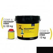 Aquasmart оптом | Мастика гидроизоляционная полиуретан-акриловая Aquasmart Hybrid-2K черный 13,2 кг