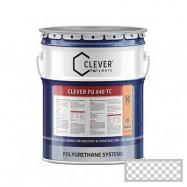 Clever Polymers оптом | Лак полиуретановый алифатический финишный Clever Polymers Clever Pu 640 TC – 1K прозрачный 20 кг