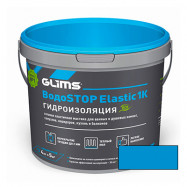 Glims оптом | Мастика полимерная Glims ВодоStop Elastic 1К аквамарин 4 кг