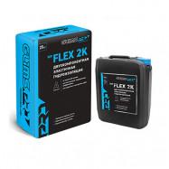 Glims оптом | Цементно-полимерная смесь Glims Pro WP Flex 2 K эластичная гидроизоляция 25 кг