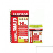 Isomat оптом | Затирка Isomat Multifill Smalto 1-8 0511/3 белый 2 кг полимерцементная