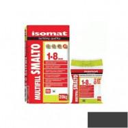 Isomat оптом | Затирка Isomat Multifill Smalto 1-8 0511/3 черный 2 кг полимерцементная