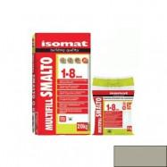 Isomat оптом | Затирка Isomat Multifill Smalto 1-8 0511/3 серый 2 кг полимерцементная