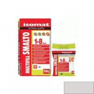 Isomat оптом | Затирка Isomat Multifill Smalto 1-8 0511/3 светло-серый 2 кг полимерцементная