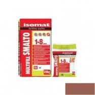 Isomat оптом | Затирка Isomat Multifill Smalto 1-8 0511/3 красно-коричневый 2 кг полимерцементная