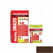Isomat оптом | Затирка Isomat Multifill Smalto 1-8 0511/3 коричневый 2 кг полимерцементная