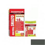 Isomat оптом | Затирка Isomat Multifill Smalto 1-8 0511/3 темно-серый 2 кг полимерцементная
