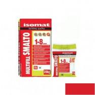 Isomat оптом | Затирка Isomat Multifill Smalto 1-8 0511/3 красный 2 кг полимерцементная