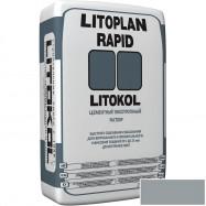 Litokol оптом | Штукатурка цементная Litokol Litoplan Rapid cерый 25 кг