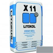 Litokol оптом | Плиточный клей Litokol X11 серый 5 кг высокоадгезионный