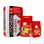 Litokol оптом | Затирка Litokol Litochrom 1-6 белый № 00 2 кг цементная