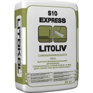 Litokol оптом | Самонивелирующаяся смесь Litokol Litoliv S10 Express 20 кг на сложном вяжущем