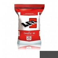 Levl оптом | Полимерцемент Levl CemPol 20 однокомпонентный для финишного покрытия темно-серый 25 кг
