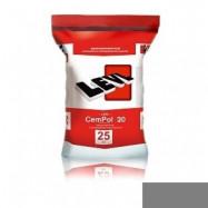 Levl оптом | Полимерцемент Levl CemPol 20 однокомпонентный для финишного покрытия натуральный серый 25 кг