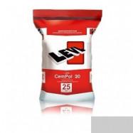 Levl оптом | Полимерцемент Levl CemPol 20 однокомпонентный для финишного покрытия светло-серый 25 кг