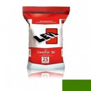 Levl оптом | Полимерцемент Levl CemPol 20 однокомпонентный для создания финишного покрытия зеленый 25 кг