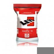 Levl оптом | Полимерцемент Levl CemPol 10 однокомпонентный для финишного покрытия натуральный серый 25 кг