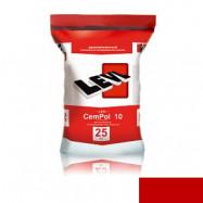 Levl оптом | Полимерцемент Levl CemPol 10 однокомпонентный для создания финишного покрытия красный 25 кг