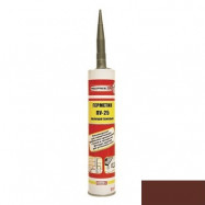 Rubberflex Pro оптом | Герметик полиуретановый Rubberflex Pro PU-25 коричневый универсальный 310 мл