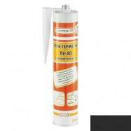 Rubberflex Pro оптом | Герметик полиуретановый Rubberflex Pro PU-40 черный универсальный 310 мл