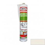 Rubberflex Pro оптом | Герметик полиуретановый Rubberflex Pro Эмфимастика PU-25 белый универсальный 310 мл