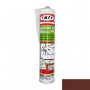Rubberflex Pro оптом | Герметик полиуретановый Rubberflex Pro Эмфимастика PU-25 коричневый универсальный 310 мл