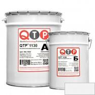 QTP оптом | Наливной состав эпоксидный QTP 1130 прозрачный палитра RAL 12,8 кг