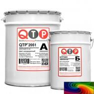 QTP оптом | Краска полиуретановая QTP 2051 палитра RAL 24 кг универсальная