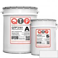 QTP оптом | Лак полиуретановый QTP 2161 бесцветный 11 кг матовый