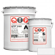 QTP оптом | Лак эпоксидный QTP 3161 бесцветный 13 кг матовый износостойкий