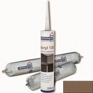 Remmers оптом | Герметик акриловый Remmers Acryl 100 1141 темно-коричневый без зерна для дерева 600 мл