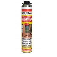 Soudal оптом | Пена монтажная Soudal пистолетная 115003 750 мл бытовая зимняя преполимерная