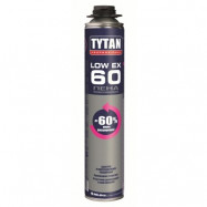 Tytan оптом   Пена монтажная Tytan Professional LowEx 60 97488 750 мл профессиональная зимняя полиуретановая