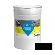 Weber-Vetonit оптом | Мастика битумная Weber-vetonit Weber.tec 905 для кровли черный 10 л